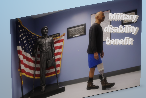 Military disability benefit
