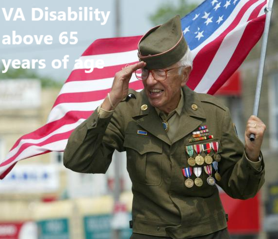 VA Disability above 65 years of age