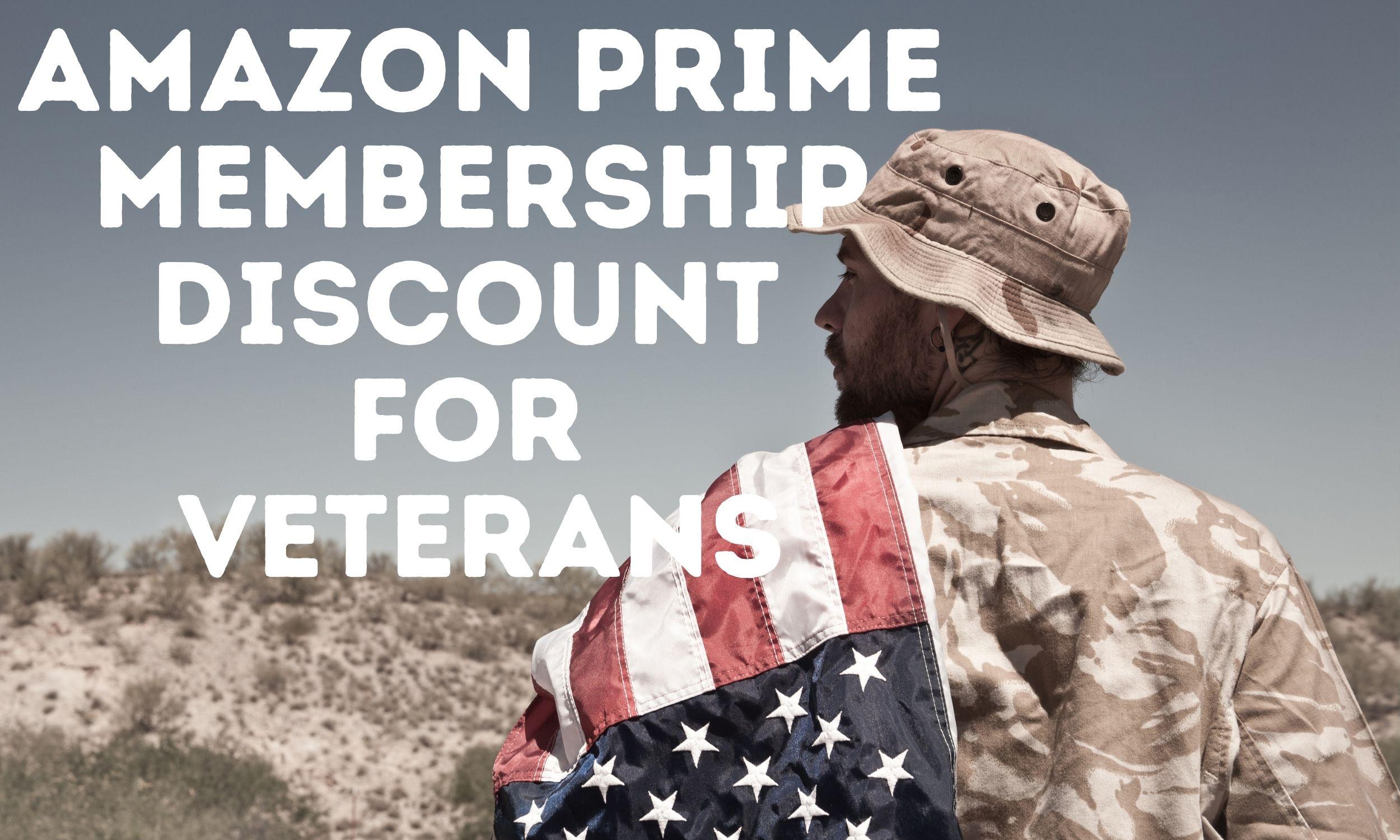 Amazon Prime Membership Discount for Veterans 2021